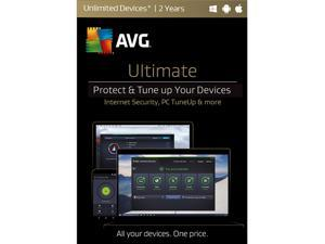 AVG Ultimate 2017 Unlimited - 2 Years (Key Card)