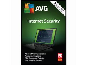 AVG Internet Security 2018, 3 PCs / 2 Years [Key Card]