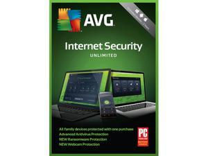 AVG Internet Security 2018 Unlimited Devices 2 Years (Download)