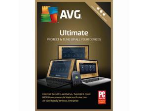 AVG Ultimate 2018, Unlimited Devices / 2 Years [Key Card]