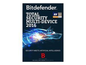 Bitdefender Total Security Multi-Device 2016 - 5 Devices 2 Year - Download