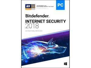 Bitdefender Internet Security 2018 1 PC / 1 Year