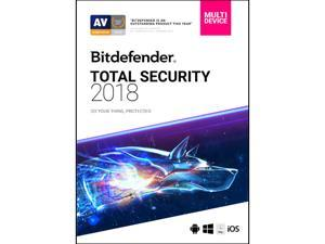 Bitdefender Total Security 2018 5 Devices / 1 Year