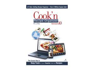 DVO Enterprises Cook'n Recipe Organizer PC/MAC- Version 10