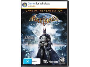 Batman: Arkham Asylum Game of The Year Edition [Online Game Code]