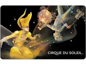 $50 Cirque du Soleil Gift Card