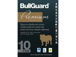 BullGuard Premium Protection 2017 - 10 Devices / 1 Year