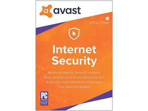 Avast Internet Security 2018 for 3 PCs 1 Year (Download)