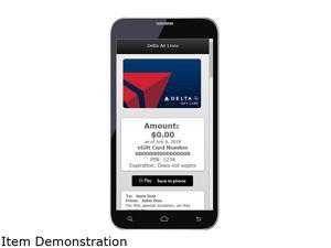 Delta Airlines $250 Gift Card (Email Delivery)