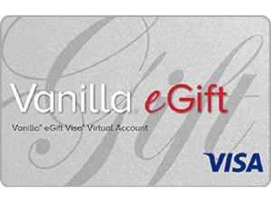 Visa $200 Vanilla eGift Visa Virtual Account
