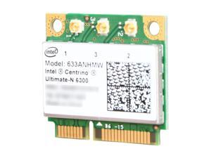 Intel Ultimate N 633ANHMW Mini PCI Express Ultimate N 633ANHMW Wireless Adapter - OEM