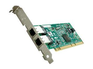 Intel PWLA8492MT 10/ 100/ 1000Mbps PCI PRO/1000 MT Dual Port Server Adapter