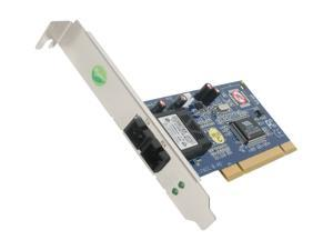StarTech PCI100MMSC 100Mbps PCI Full/Low Profile Ethernet Multi Mode SC Fiber NIC Card
