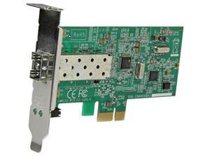 StarTech.com PCI Express 10/100 Mbps Ethernet Fiber SFP PCIe Network Card Adapter NIC