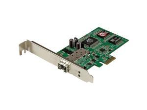 StarTech.com PCI Express Gigabit Ethernet Fiber Network Card w/ Open SFP - PCIe SFP Network Card Adapter NIC
