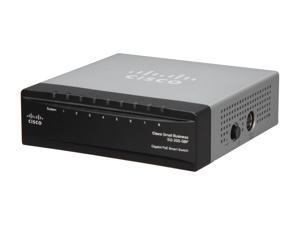Cisco Small Business 200 Series SLM2008PT-NA Smart SG200-08P 8-Port Gigabit Ethernet PoE Switch
