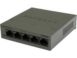NETGEAR GS305 SOHO Ethernet Unmanaged 5-Port Gigabit Switch