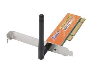 Zonet ZEW1601 PCI 802.11g Wireless LAN Adapter