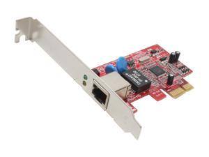 Koutech IO-PEN121 PCI-Express Gigabit Ethernet PCI Express (x1) Card