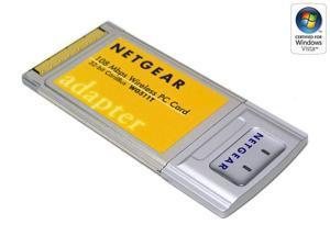 Netgear 54mbps wireless pc card wg511