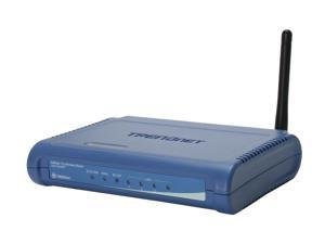 TRENDnet TEW-432BRP 802.11b/g Wireless Broadband Router