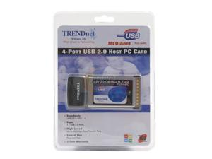 TRENDnet TU2-H4PC USB PCMCIA Card