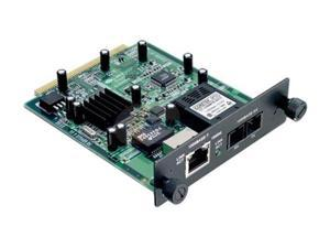 TRENDnet TEG-S24M11CF 2-port Gigabit (1-port SC-type, 1-port RJ-45) module for TEG-S2400i