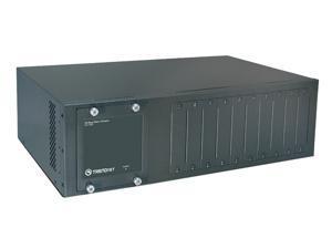 TRENDnet TFC-1000 10-Bay Fiber Converter Chassis System