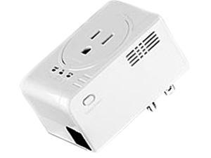 TRENDnet TPL-407E Powerline 500 AV Nano Adapter with Built-In Outlet Up to 500Mbps