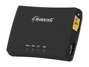 Hawking HMPS1U 1-Port USB 2.0 Print Server for Multi Function Printers
