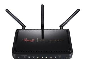 Rosewill RNX-N4 IEEE 802.11b/g/n Wireless-N 2.0 Gigabit Router (2T3R) Up to 300Mbps Data Rates/ WPA Personal and Enterprise, ...