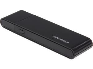 Rosewill RNX-N600UB - Dual Band Wireless N600 Adapter - IEEE 802.11a/b/g/n, Up to 300 Mbps (5.0 GHz) + 300 Mbps (2.4 GHz) Wi-Fi Data Rates, USB Interface
