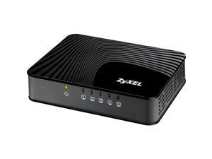 ZyXEL GS105S V2 5-Port Desktop QoS Gigabit Switch
