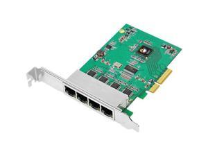 SIIG 4-Port Gigabit Ethernet PCIe