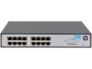 HP 1420-16G Fixed 16 Port Unmanaged Gigabit Ethernet Switch