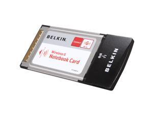 BELKIN F5D7010 Wireless G Notebook Card