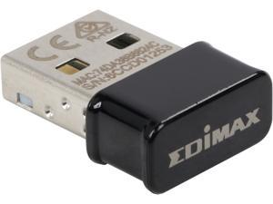 Edimax EW-7822ULC AC1200 Dual-Band Nano Wi-Fi Adapter, Nano Size Lets You Plug it and Forget It