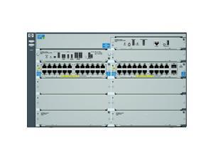 HP J9638A#ABA 10/100/1000Mbps + 10 Gigabit 8206-44G-PoE+-2XG v2 zl Switch with Premium Software