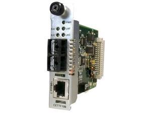 TRANSITION CETTF1013-105 Point System Slide-In-Module Media Converter