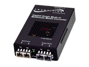 Transition Networks Gigabit Ethernet Stand-Alone Transceiver