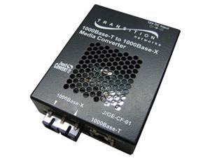 Transition Networks Just Convert-IT J/GE-CF-01(LX1) RJ-45 To SC Media Converter
