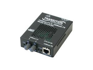 Transition Networks Just Convert-IT J/FE-CF-04(SM) Fast Ethernet Media Converter
