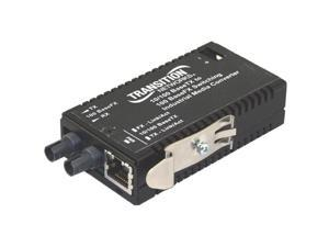 Transition Networks M/E-ISW-FX-01(SC) Industrial Mini 10/100 Bridging Media Converter