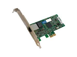 AddOn 10/100/1000Mbs Single Open RJ-45 Port 100m PCIe x4 Network Interface Card