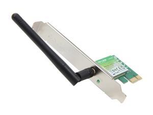 TP-LINK TL-WN781ND Wireless N150 PCI Express Adapter, 150Mbps, IEEE 802.1b/g/n, WEP/WPA/WPA2