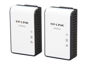 TP-LINK TL-PA211KIT AV200 Mini Multi-Streaming Powerline Adapter Starter Kit