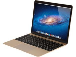"Apple Laptop MacBook MK4M2LL/A Intel Core M 1.10 GHz 8 GB Memory 256 GB SSD Intel HD Graphics 5300 12.0"" Mac OS X v10.10 Yosemite"