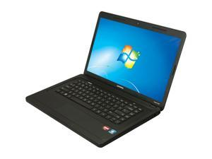 "COMPAQ Presario CQ57-319WM AMD Dual-Core C-50 1.0GHz 15.6"" Windows 7 Home Premium 64-Bit Notebook"