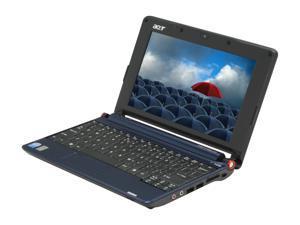 "Acer Aspire One AOA150-1570 Sapphire Blue 8.9"" WSVGA Netbook"