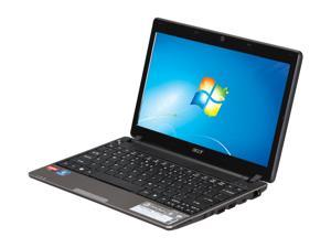 "Acer Aspire AS1551-5448 AMD Turion II Neo Dual-Core K625 1.5G 11.6"" Windows 7 Home Premium 64-bit Notebook"
